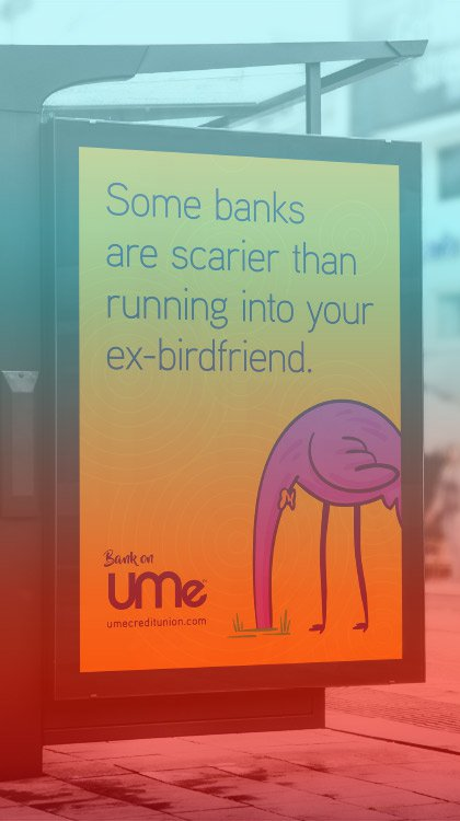 Adrenaline's Client UMe Wins MAC Award for Their Bright and Bold Bus Shelter Ads